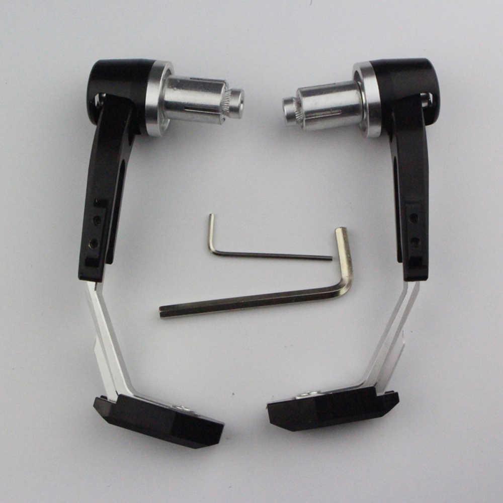 Aluminium universel 7/8 pouces 22mm CNC guidon protecteur frein embrayage protéger moto levier garde Proguard