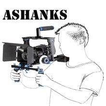 Комплект DSLR установка поддержка видео камеры клетка/плечевая/Матовая коробка/Follow Focus для Canon Nikon Sony видеокамера