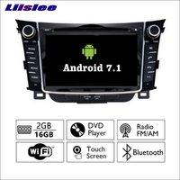 Android 7 1 2G RAM For Hyundai I30 Elantra GT Car Radio Audio Video Multimedia DVD