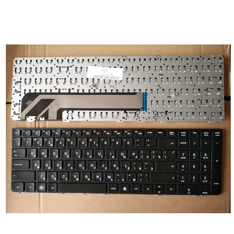 Russian Keyboard for HP for PROBOOK 4530 4730 4530S 4730S 4535S 4735s 6037B0059628 638179 DJ1 NSK CC0SV RU Black keyboard-in Replacement Keyboards from Computer & Office on