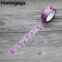 Homegaga Characters Steven Universe decoration vintage album Washi tape diy Scrapbooking Adhesive Masking Printed sticker D2162
