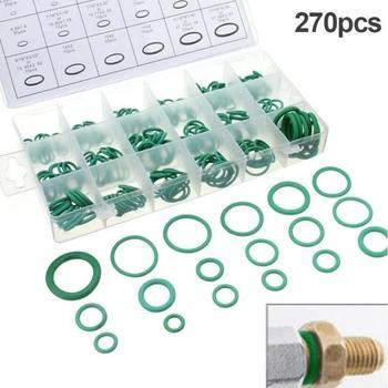 Бесплатная доставка Кондиционер HNBR уплотнительные кольца автомобильный набор для ремонта автомобиля 270 шт 18 размеров
