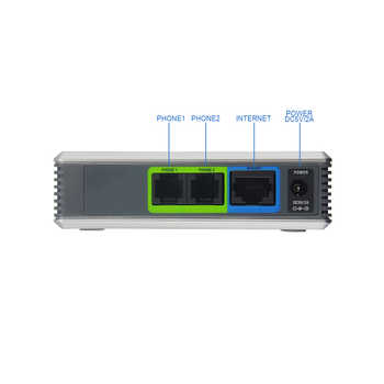 UNLOCKED LINKSYS PAP2T-NA PAP2-NA VOIP Phone Voice Adapter with 2 FXS ports SIP VoIP Adapter more advance PAP2T