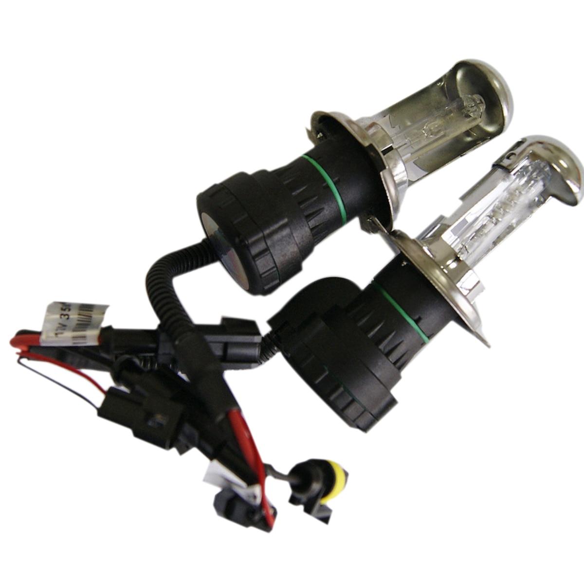 Tonewan 2X H4-3 Xenon 12v 35W H4 xenon HID For Car Headlight Replacement lamps Bulb light H4 Xenon Hi/Lo Beam 3000K-12000K