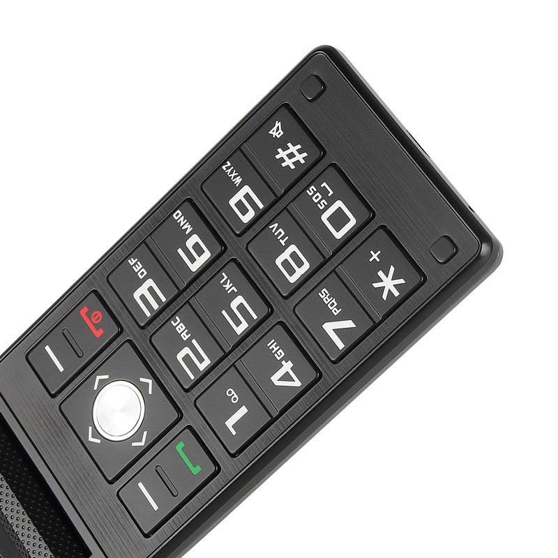 UNIWA X28 Old Man Flip Phone GSM Big Кнопка Flip Mobile Phone Dual Sim FM Radio Russian Keyboard Cellphone Senior Phone