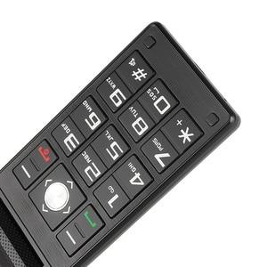 Image 5 - Uniwa X28老人フリップ電話gsm大プッシュボタンフリップ携帯電話デュアルsim fmラジオロシアキーボード携帯電話シニア電話