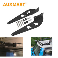 Auxmart 2x 52inch Light Bar Mount Mounting Brackets Kit Car Offroad Straight Curved Base For Toyota