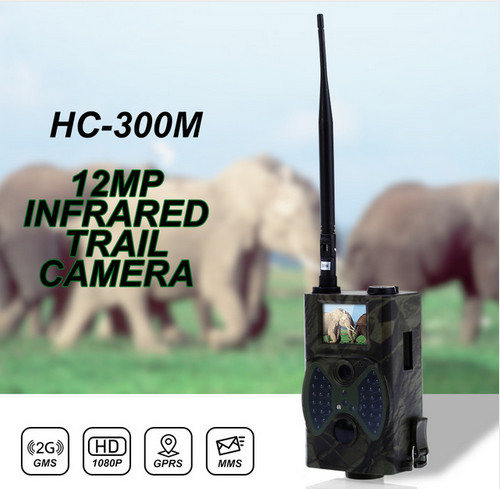 12MP 940NM Scouting Hunting Camera Trap HC300M New HD 1080P GPRS MMS Digital Infrared Trail Camera GSM scouting hunting camera hc300m new hd 1080p gprs mms digital infrared 12mp gsm mms hunting trail camera