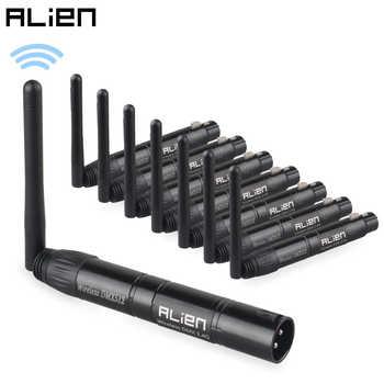 ALIEN DMX512 Wireless Controller Receiver Transmitter 2.4G ISM Dif Communication Distance 300m for Stage Par DJ Disco Bar Lights - DISCOUNT ITEM  30% OFF All Category