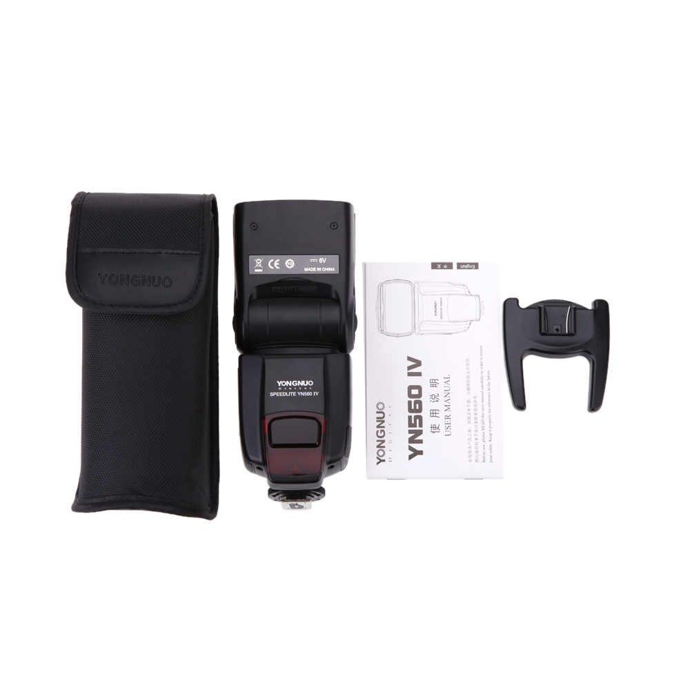 YONGNUO YN 560 III IV מאסטר אלחוטי פלאש Speedlite עבור ניקון Canon אולימפוס Pentax DSLR מצלמה פלאש Speedlite המקורי