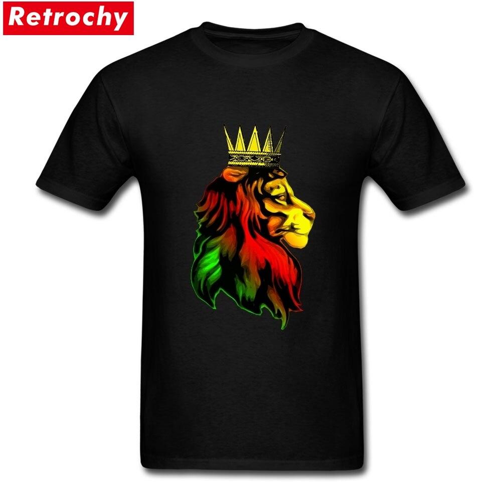 LION of Judah III Bambini Manica lunga T-shirt Rasta Bob Marley Jamaica Rastafari
