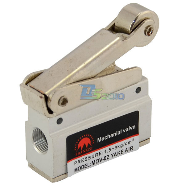 MEGAIRON 1/8 Mechanical Push Button Valve BSPT Pneumatic Air Valve
