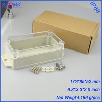 10 pieces a lot IP 68 plastic wall mounted  case  173*85*51MM 6.8*3.3*2 inch