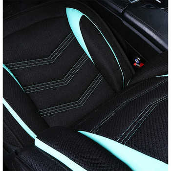 (Front + Rear) Universal Flax car seat covers For Lifan Solano Cebrium 320 520 620 X50 X60 With Breathable Material car seat
