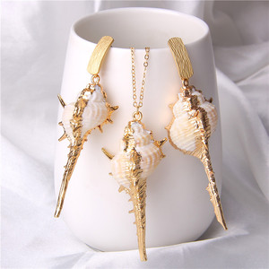 Natural Shell Jewelry Sets Wom