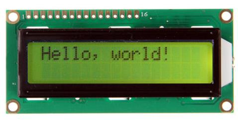 Glyduino <font><b>LCD1602</b></font> Display <font><b>Module</b></font> Yellow Screen with Backlight LCD Display 5V for Arduino image