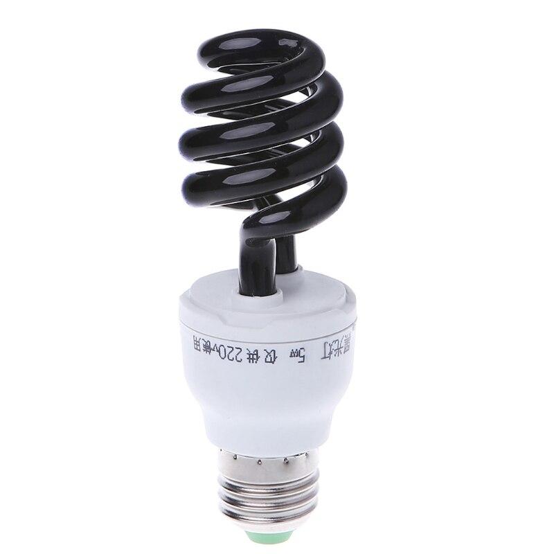 E27 20W 40W Blacklight Low Energy CFL UV Light Spiral Bulb Screw Germicidal Lamp