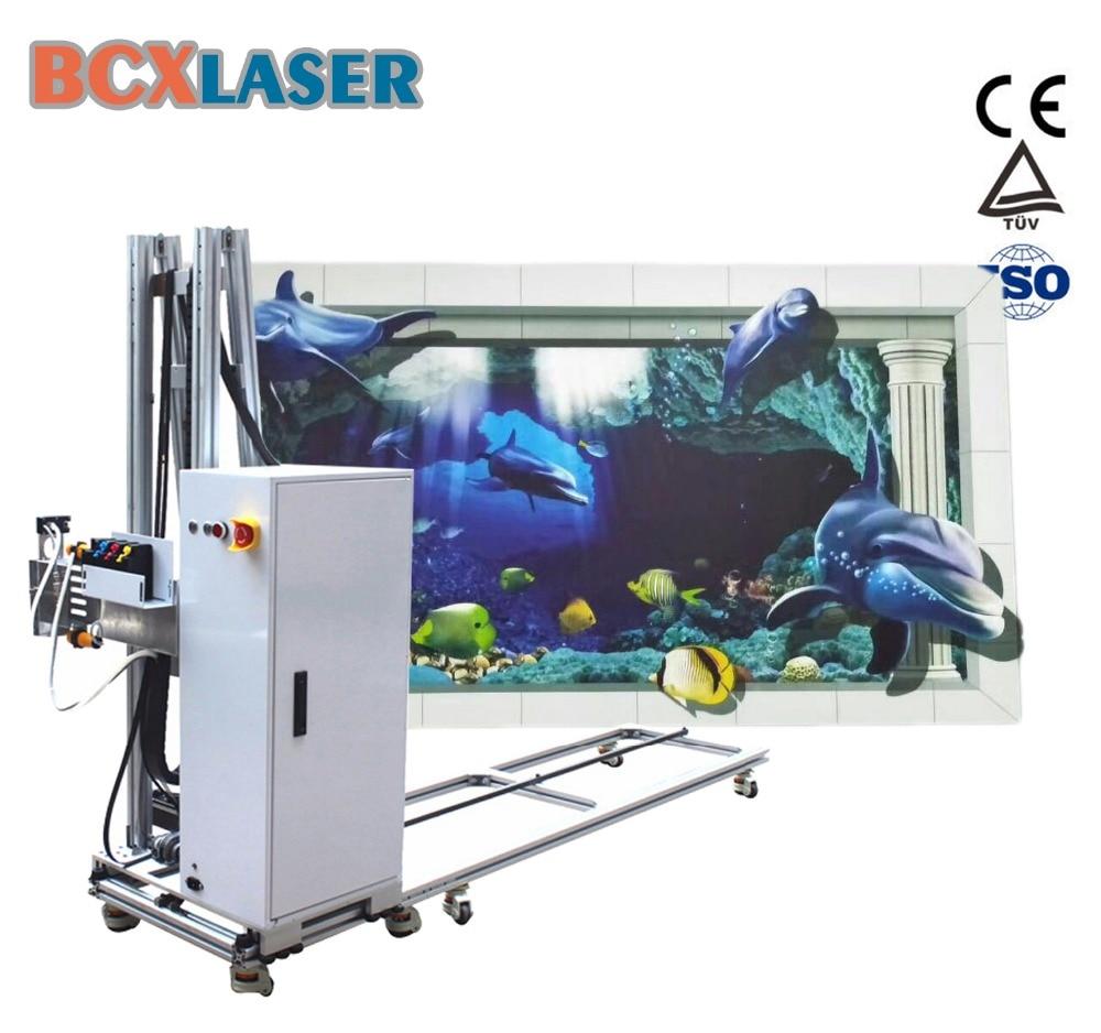 Impressora de parede vertical 3d máquina de impressão uv