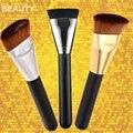 NEW Professional Cosmetic Pro 163 Flat Contour Brush Big Face Blend Makeup Brush