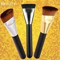NUEVA Cosmética Profesional Pro 163 Cepillo Contorno Plano Grande de la Cara de Mezcla Cepillo Del Maquillaje