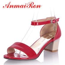 Купить с кэшбэком ENMAYER  women Sandals fashion High-heeled Sandals Women's Shoes sexy Summer sandals  Open-toed shoes women