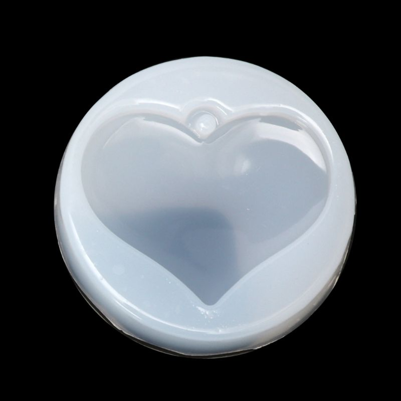 1PC Heart Star Shape Jewelry Mold Silicone Epoxy Resin Casting Pendant Crystal Molds Accessories