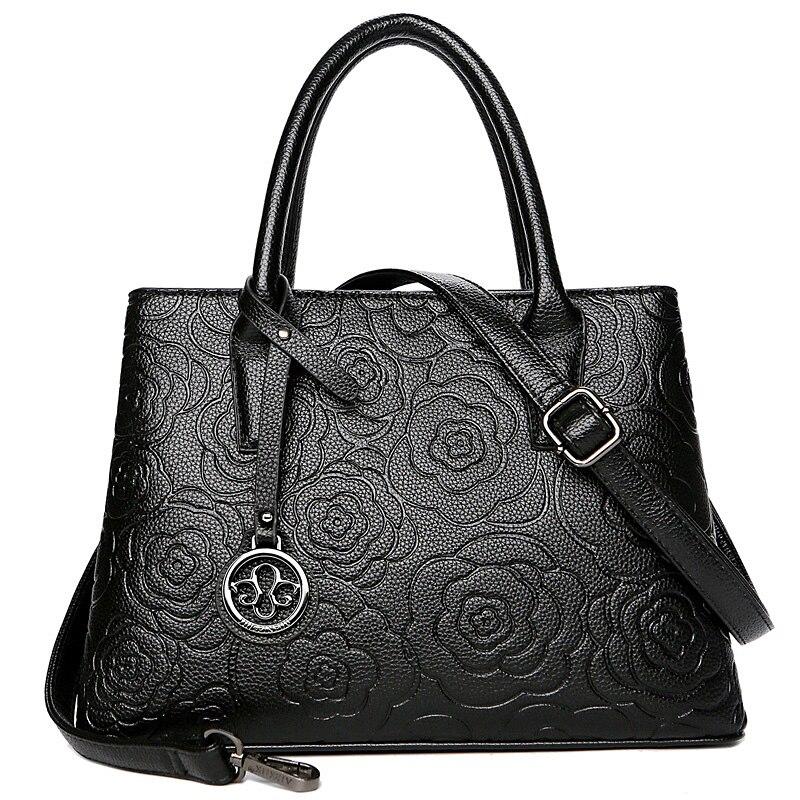 High Quality Fashion Women Genuine Leather Handbags Women Messenger Crossbody Bags Women Tote Shoulder Bags Top-handle Bags Sac цена в Москве и Питере