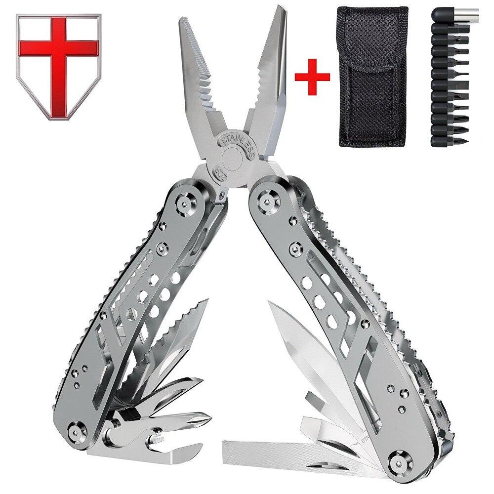 Multitool com Mini Ferramentas Alicate Faca EDC Canivete suíço e Multi-kit ferramenta para outdoor camping equipment