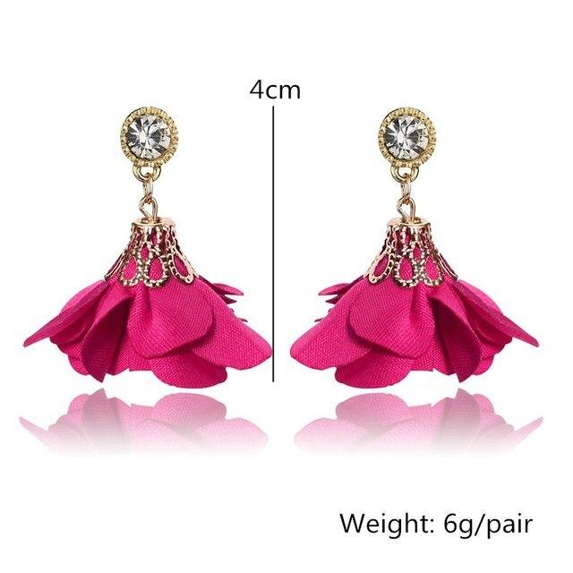 Crystal Drop Earrings For Women 1