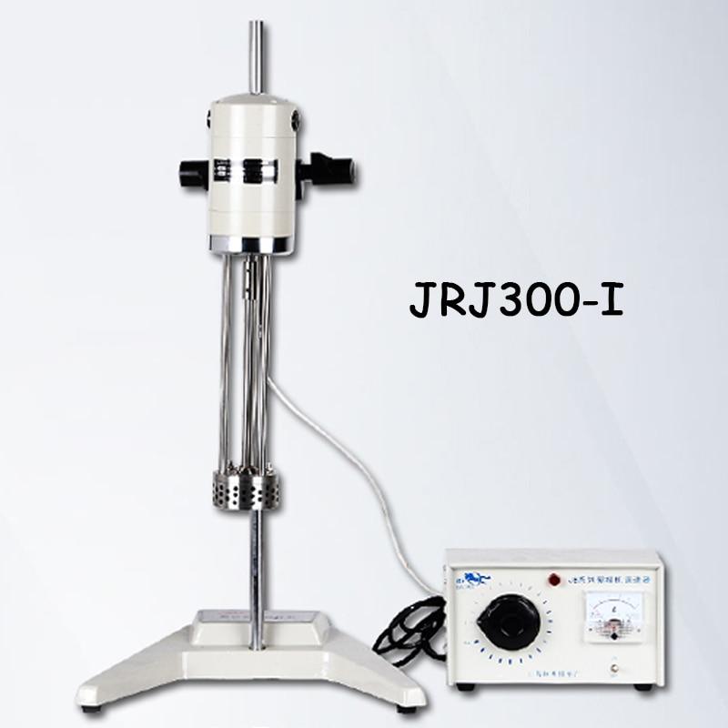 High speed cosmetics emulsifying mixer solid / liquid / powder homogenizer shearing machine AC220V/50Hz JRJ300-I цена