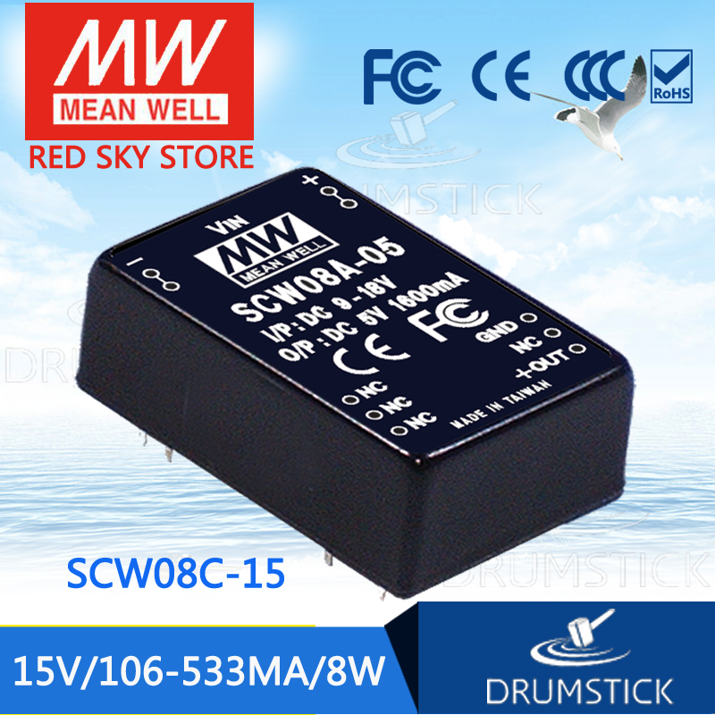 Advantages MEAN WELL SCW08C-15 15V 533mA meanwell SCW08 15V 8W DC-DC Regulated Single Output ConverterAdvantages MEAN WELL SCW08C-15 15V 533mA meanwell SCW08 15V 8W DC-DC Regulated Single Output Converter