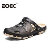 Hommes d'été Plage Pantoufles Chaussures De Gelée De Mode Hommes Sandales De Plage En Plein Air décontracté Marche Plage Tongs Hommes Chaussures