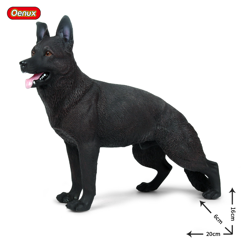 2Pcs Lifelike Grey Wolf Models Action Figure Kids Educational Toy Gifts
