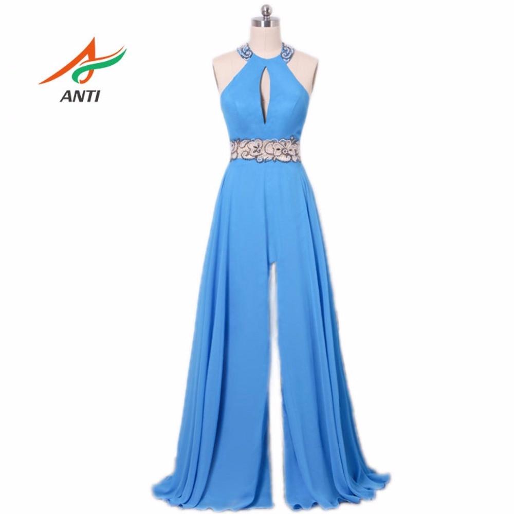 ANTI délicates robes de bal perlées élégant sur les cristaux d'épaule robes de soirée robe de soirée réel Image HQY9571