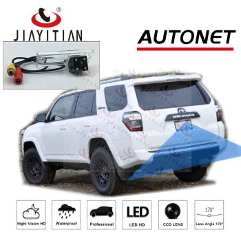 JiaYiTian rear view camera For Toyota 4Runner 2010 2011 2012 2013 2014 2015 2016 2017 2018 Backup camera license plate camera brand new fuel pump for toyota verso s 1 3l distributor petro pump injection 1nr fe 19000 47200 2010 2015 2011 2012 2013 2014