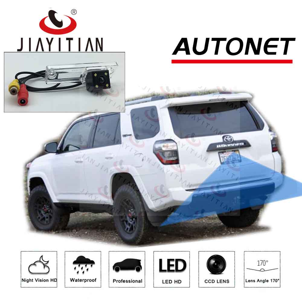 JiaYiTian rear view camera For <font><b>Toyota</b></font> <font><b>4Runner</b></font> <font><b>2010</b></font> 2011 2012 2013 2014 2015 2016 2017 2018 Backup camera license plate camera image
