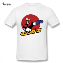 Popular Mazinger Z Tee Shirt For Boy 2018 New Unique Man Pure Cotton Clothes