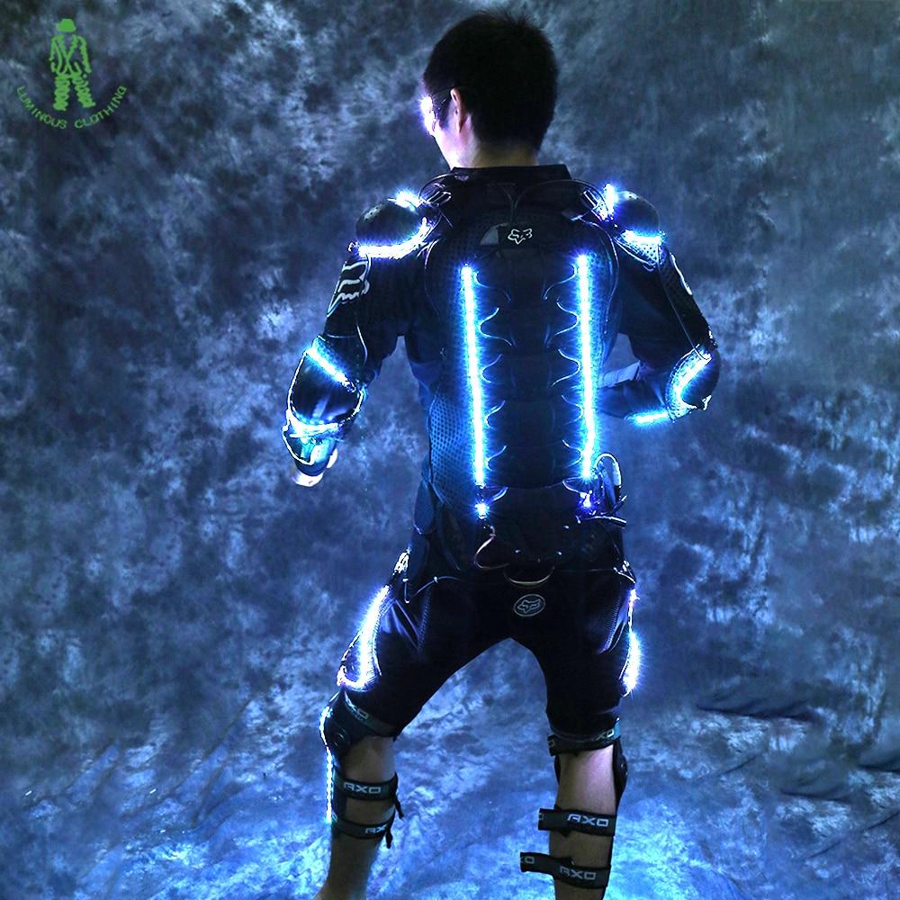 Transporti Falas LED Ndriçimi Armor Tron Trashëgimisë Rroba - Furnizimet e partisë - Foto 5