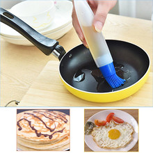 Zero Silicone Baking Cake Butter Bread Pastry Liquid Oil Pen Tube Brush BBQ Tool New 170224