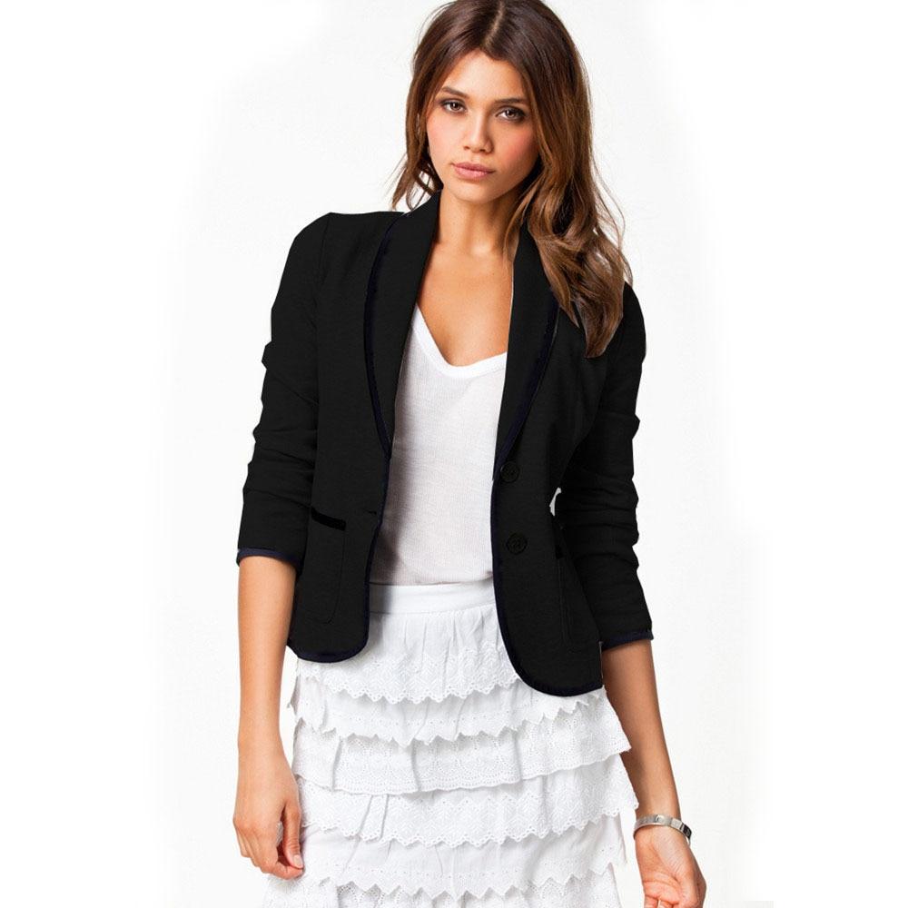 Online Get Cheap Black Short Blazer -Aliexpress.com | Alibaba Group