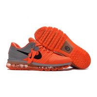 New style Hot Sale NIKE MAX 2017 Running shoes Nike full palm nano Disu technology Sports Men shoes hot Sneakers 40 46