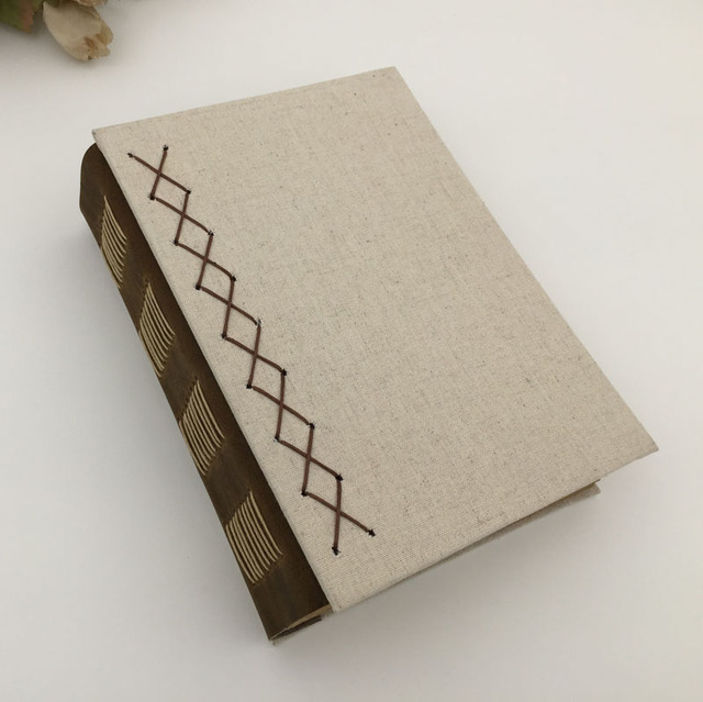 vintage handmade notebook paper personal diary travel journal