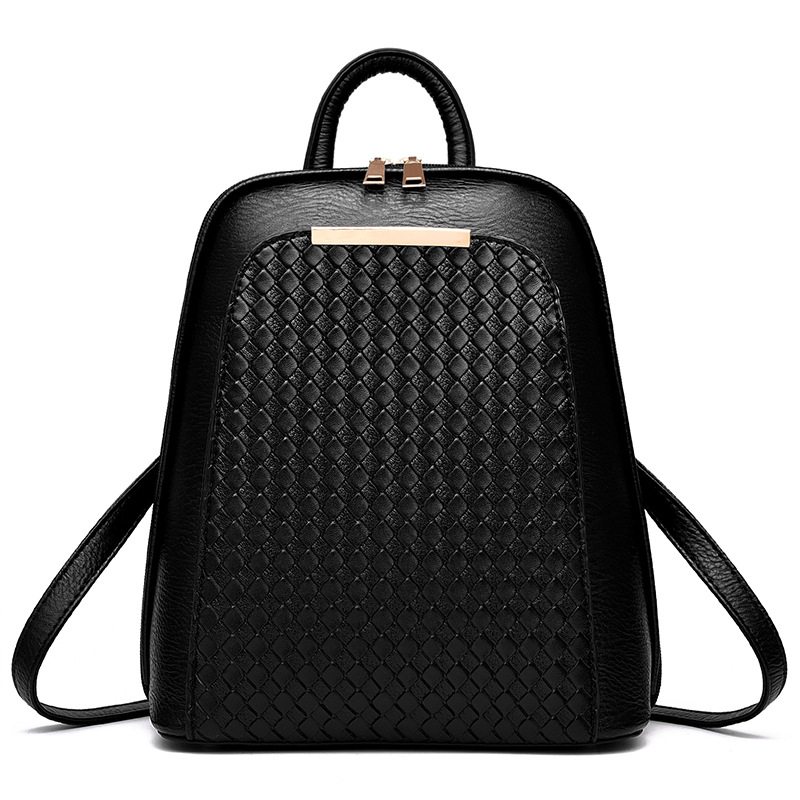 все цены на 2018 New Fashion PU Women Backpack Casual Summer Women Bags Teenagers Girls Backpack Female Mochila Bagpack Pack Design онлайн