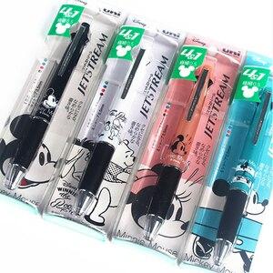 Image 5 - 1 قطعة محدودة اليابان ميتسوبيشي يوني SN 101 متعدد الألوان القلم متعدد الوظائف اللون القلم أربعة قلم ملون ببلية + قلم رصاص