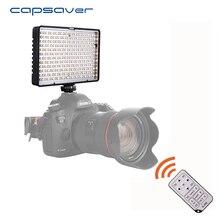 Capsaver TL-288AS CONDUZIU a Iluminação Fotografia de Estúdio Luz de Vídeo para Canon Nikon Sony + Controle Remoto 288 LEVOU Dimmable 3200 K-5600 K