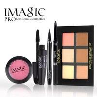 Imagic Beginner Makeup Sets Nude Makeup Cosmetics Powder Mascara Eyeliner Eyebrow Pencil Blush Daily Life Makeup