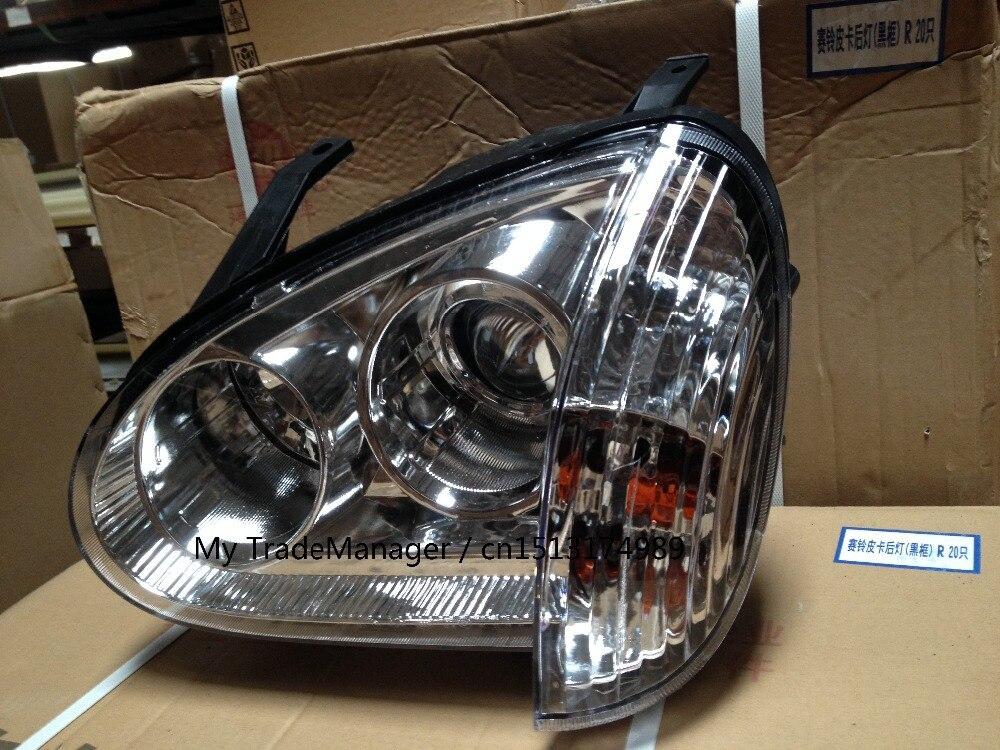 4121100-P00 4121200-P00 HEADLIGHT HEAD LAMP HEAD LIGHT HEADLIGHTS FOR GREAT WALL WINGLE 3 GREAT WALL V240 HEADLAMP HEAD LAMPS