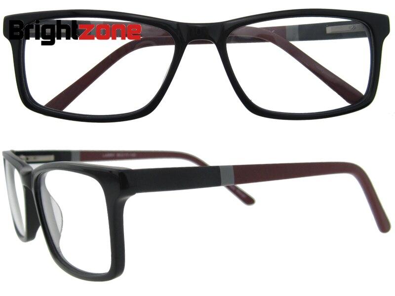 FREE SHIPPING 2016 new trend top quality man glasses brand patchwork designer eyeglasses demi myopia eyeglasses frame B041233