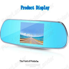 "Hot Sale 5.0"" Full HD 1080P   Rearview Mirror Video Recorder Car DVR Dual Night Vision Parking Camera G-Sensor  Rearview Mirror"