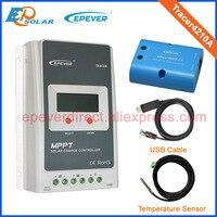 Solarbatterielade home system mppt-regler mit wifi funktion USB und sensor Tracer4210A 40A